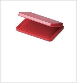 中形シヤチハタ速乾スタンプ台 赤色