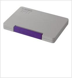 シヤチハタTATスタンプ台(多目的)特大形 紫