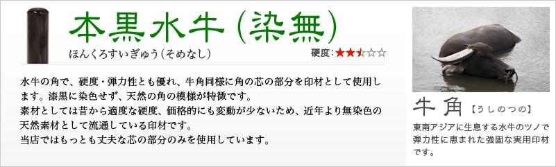 黒水牛(染無)