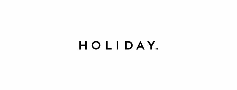 holiday ホリディ