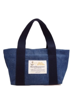 【定番 Standard Line】BED&BREAKFAST【B&B_0021】Sail Cloth Bag DENIMセイルクロスバッグデニム<小> 8041700117