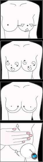 バストマッサージの手順と方法