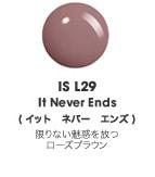ISL29 イット ネバー エンズ