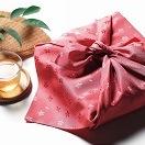 彩美 花飾り ふろしき・小ふろしきセット ピンク 867