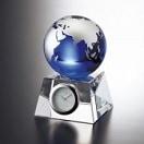 グラスワークスナルミ ブルーアース デスククロック(S) (お名入れ可) GW1000-11050