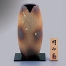 信楽焼 10号花瓶 小花紋 sha-2