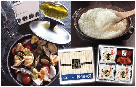 ブランド米・麺類・パスタセット