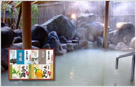 温泉の素・入浴料ギフト