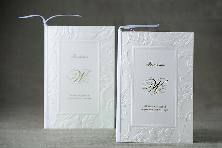 ボンヌシャンス (招待状)結婚式招待状 印刷/手作り対応イメージ1
