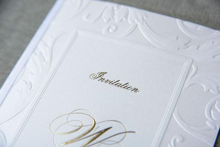 ボンヌシャンス(招待状)結婚式招待状 印刷/手作り対応イメージ2