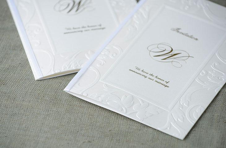 ボンヌシャンス (招待状)結婚式招待状 印刷/手作り対応イメージ4