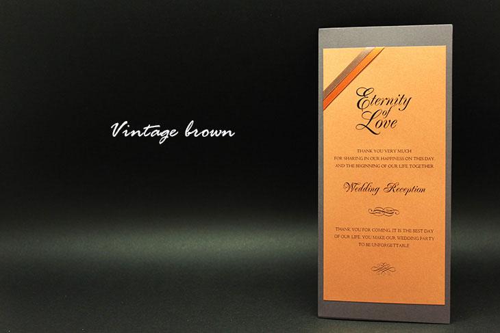 Vintage brown(席次表)イメージ