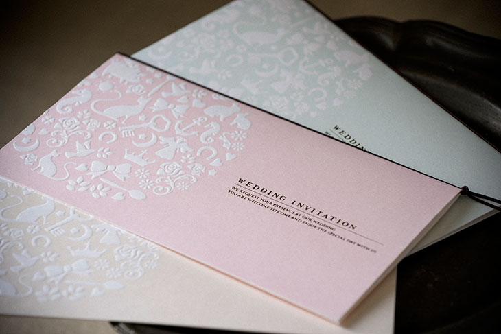 フォルトゥナ (招待状)結婚式招待状 印刷/手作り対応イメージ1