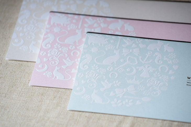 フォルトゥナ (招待状)結婚式招待状 印刷/手作り対応 イメージ2