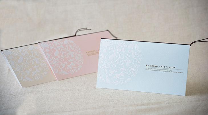 フォルトゥナ (招待状)結婚式招待状 印刷/手作り対応 イメージ3