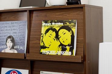 レコードって、飾ると本当にカッコイイ!!
