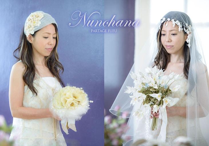 世界でひとつの「布花」で表現したブーケ・花冠・花飾りの布花!FUFU