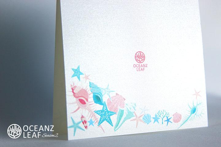 アイダ(スクエア)シェル 結婚式招待状 沖縄南国ペーパーアイテム リゾートウエディングにぴったり!画像3