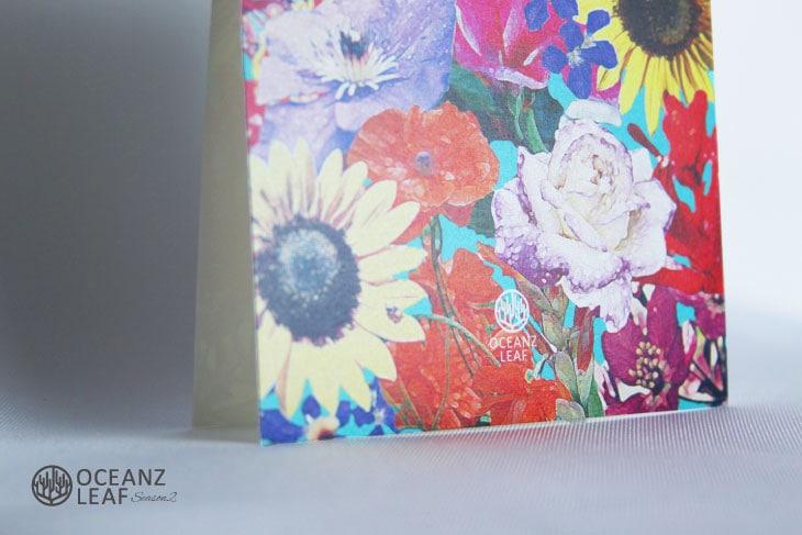 エブリン(スクエア)結婚式招待状 沖縄南国ペーパーアイテム リゾートウエディングにぴったり!画像3