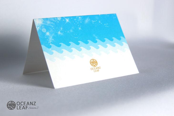 タッデオ ブルー 結婚式席札 画像4