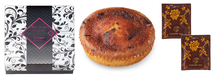 Luxury deco プリュレ仕立てのバターケーキ&紅茶12A 画像2