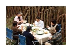 旅するマクロビ料理人、柿紀太郎が行く 菊池の原木しいたけ