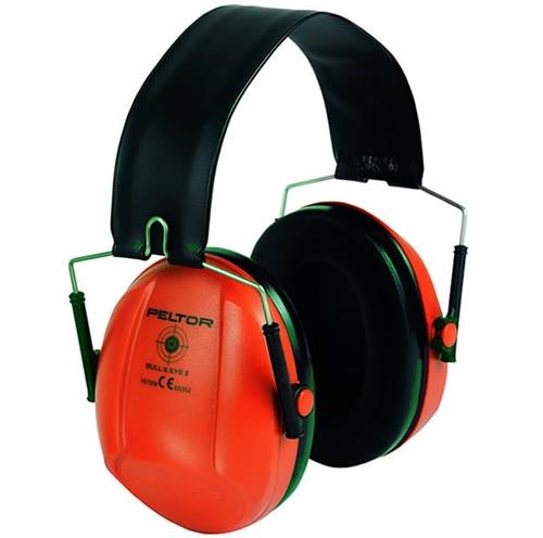 イヤーマフH515 ブルズアイ レッド (NRR21dB) PELTOR 【防音・騒音対策】
