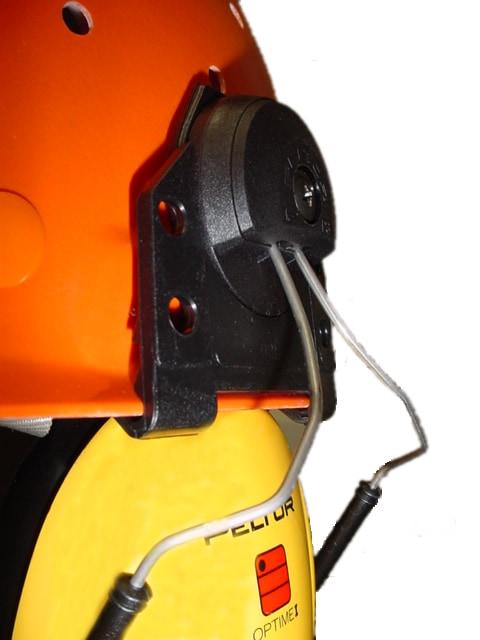 イヤーマフ ヘルメット用アタッチメントZ3B PELTOR 【防音・騒音対策】