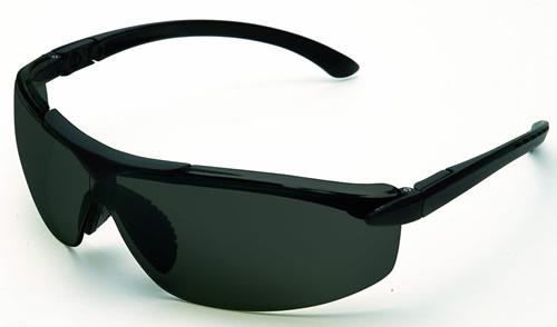 【理研化学】保護メガネ New AOS (グレー / イエロー) 【防塵・作業用・医療用】