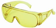 【理研化学】保護メガネ RS-04 (イエローレンズ) 【防塵・作業用・医療用】