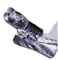 耐熱・防炎アルミ2指手袋(中綿なし)