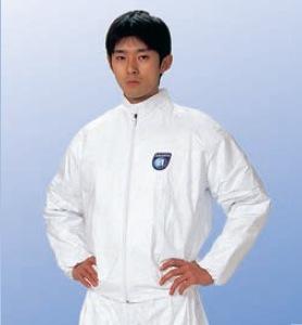 【防護服/保護服/作業服】 タイベックジャンパー 2110A
