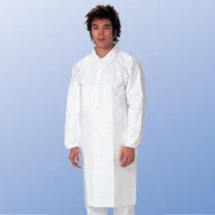 【防護服/保護服/作業服】 タイベック白衣 4251
