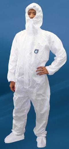 【防護服/保護服/作業服】 タイベックSMS防護服 AZ GUARD 2000