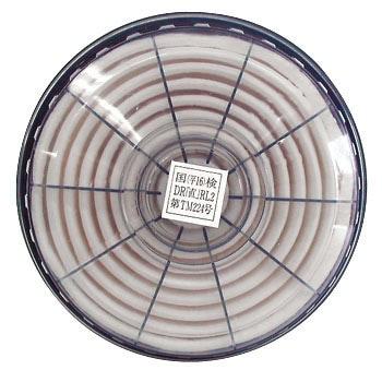 【興研】 防塵マスク用交換アルファリングフィルタ LAS-52(1181R/1781DW用) (2個/1組) 【粉塵・作業用・医療用】
