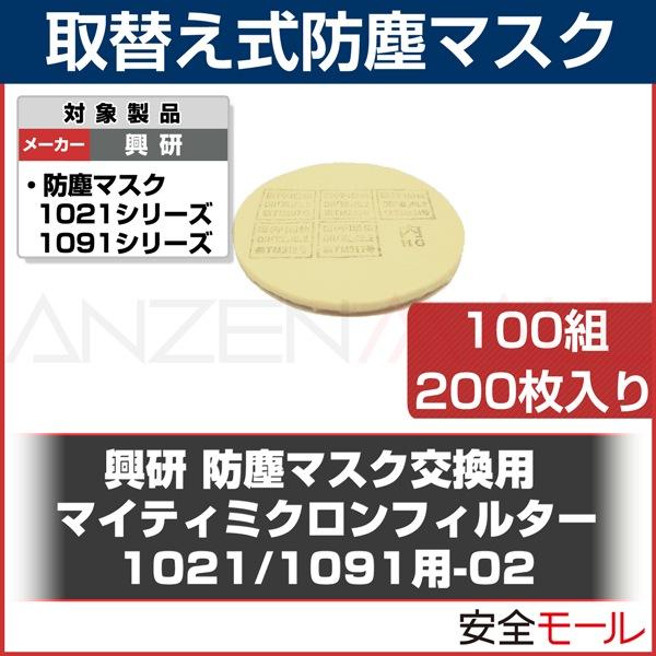 商品画像1005R用マイティミクロンフィルター1021/1091(200枚)