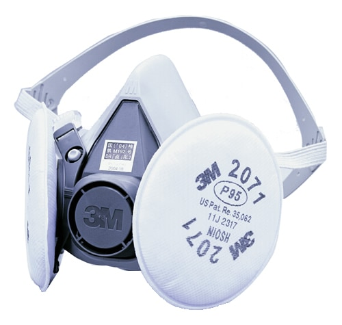 【3M/スリーエム】 取替え式防塵マスク 6000/2071-RL2 【粉塵・作業用・医療用】