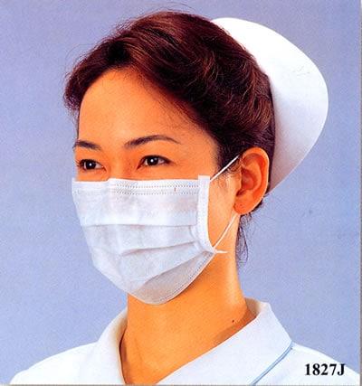 【3M/スリーエム】 サージカルマスク 1827J (50枚入)  【粉塵・作業用・医療用】