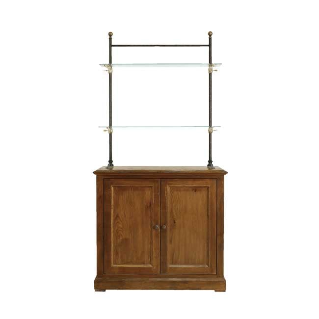 Rugged glass cabinet