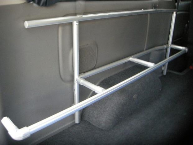ハイエース NV350 収納 ラック キャリア 車内キャリア 室内キャリア ウォールキャリア14