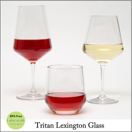 トライタン・レキシントンワイングラス