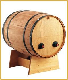 BOXワイン用樽サーバー 横型 2つ穴  ×1コ