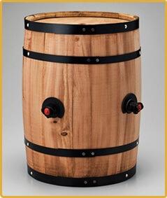 BOXワイン用樽サーバー 縦型 2つ穴  ×1コ