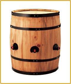 BOXワイン用樽サーバー 縦型 3つ穴  ×1コ