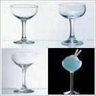 ソーサー型シャンパン・グラス
