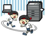 意外とうまくできない、コピー機でのスキャン!保存時にコピー機でデータを確認すれば超便利!