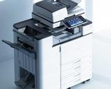冊子作製も可能!超高速毎分55枚印刷ができるコピー機!