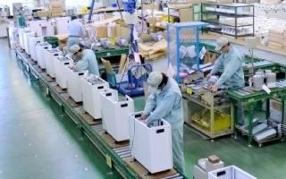 群馬県桐生市にあるオリエンタルの国内生産工場