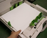 コピー機の4段目給紙カセット