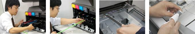 シャープカラーコピー機特価キャンペーンのコピー機MX-2310F